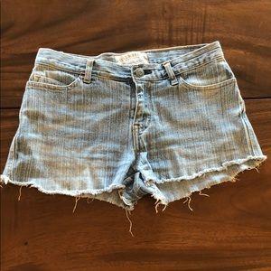 Jean Cut off Shorts